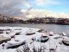 Amasra'dan Kar Fotoğrafları...