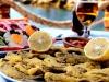 Meşhur Amasra Salatası, mezgit balığı eşsiz manzara ve restoran...