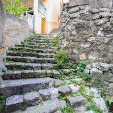 Amasra kale merdivenleri